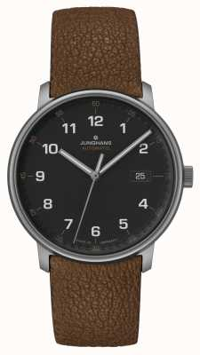 Junghans FORM A | Titan | Automatic | Brown Leather Strap | 027/2002.00