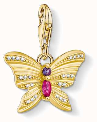Thomas Sabo | Charm Pendant Butterfly | Gold | Sterling Silver 1830-995-7
