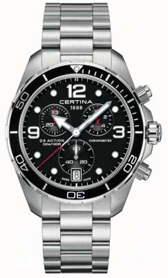 Certina DS Action Chrono | Chronometer  | Stainless Steel Bracelet C0324341105700