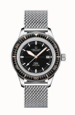 Certina DS PH200M  | Automatic | Ceramic Bezel | Mesh Bracelet C0364071105001