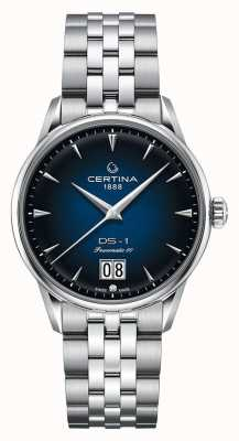 Certina DS-1 Big Date | Powermatic 80 | Stainless Steel Bracelet C0294261104100