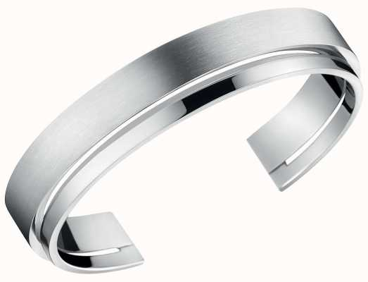 Calvin Klein | Unite | Stainless Steel Open Bangle | KJ6AMF08010M