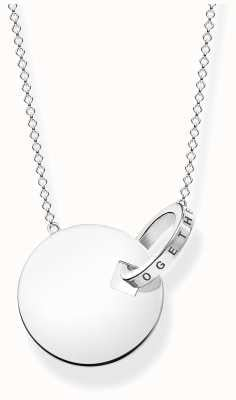 Thomas Sabo | Large Together Coin Necklace With Silver Ring | KE1948-637-21-L60V