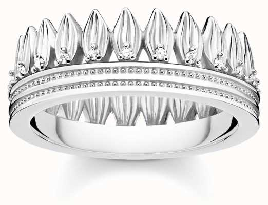 Thomas Sabo | Glam And Soul | Crown Of Leaves Ring | 54 TR2282-051-14-54