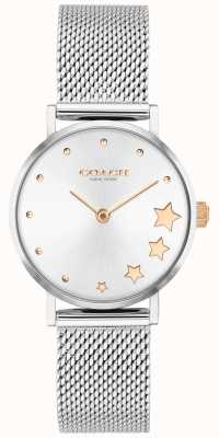 Coach | Women's Perry | Silver Mesh Bracelet | Silver Dial | 14503519