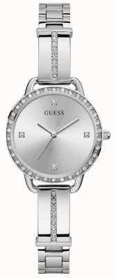 Guess | Women's Bellini | Stainless Steel Bracelet | Silver Dial | GW0022L1