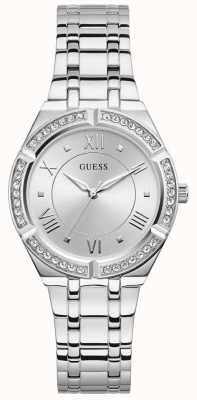 Guess | Women's Cosmo | Stainless Steel Bracelet | Silver Dial | GW0033L1