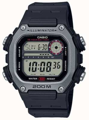 Casio | Collection | Black Rubber Strap | Digital Dial DW-291H-1AVEF