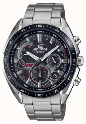 Casio | Edifice | Steel Bracelet | Stop Watch | Black Dial EFR-570DB-1AVUEF