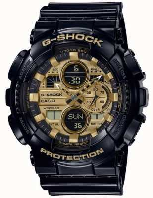 Casio G-Shock World Time | Black Rubber Strap | GA-140GB-1A1ER
