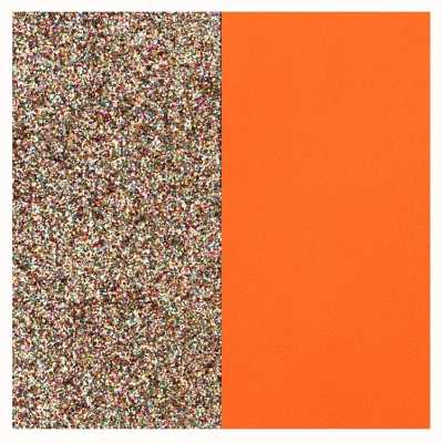 Les Georgettes 25mm Leather Insert | Multicoloured Glitter/Tangerine 702755199DM000