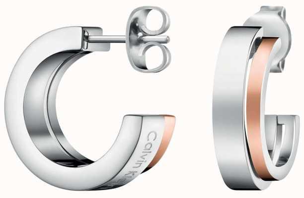 Calvin Klein | Unite | Stainless Steel Hoop Earrings | KJ6APE200100