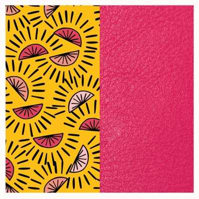 Les Georgettes 14mm Leather Insert | Citrus/Fuchsia 702145899P900