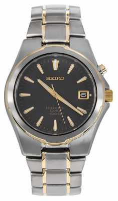 Seiko Mens Kinetic Titanium SKA214P1