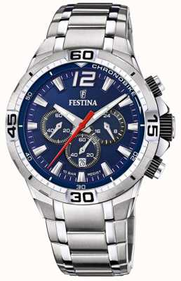 Festina Chrono Bike 2020 Blue Dial Silver F20522/3