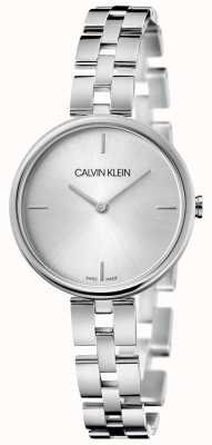 Calvin Klein Elegance | Stainless Steel Bracelet | Silver Dial KBF23146