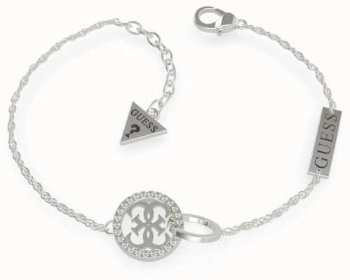 Guess Equilibre | Stainless Steel Silver Bracelet UBB79078-L