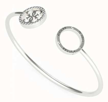 Guess Equilibre | Women's Stainless Steel Open Bangle UBB79080-L
