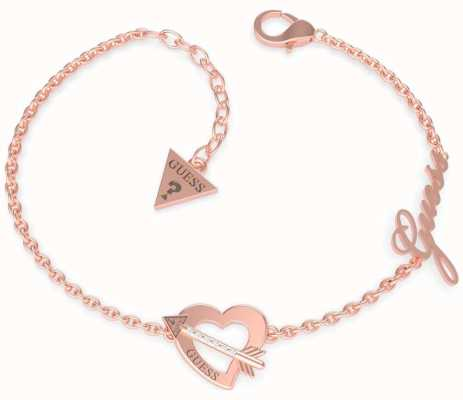 Guess Across My Heart | Rose Gold PVD Bracelet UBB79092-L