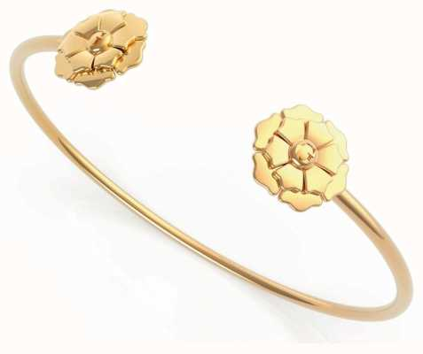 Guess Peony | Gold Plated Open Bangle UBB79167-L