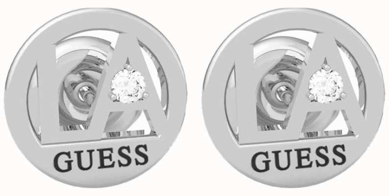 Guess LA | Stainless Steel Round Stud Earrings UBE79051