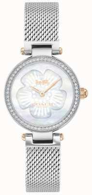Coach | Women's Park | Steel Mesh Bracelet | Flower Dial | 14503510