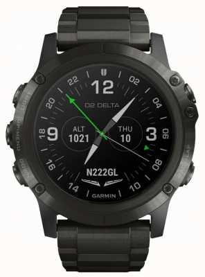 Garmin D2 Delta PX Aviator | DLC Titanium Strap 010-01989-31