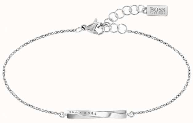 BOSS Jewellery Signature Stainless Steel Bracelet 180mm 1580006