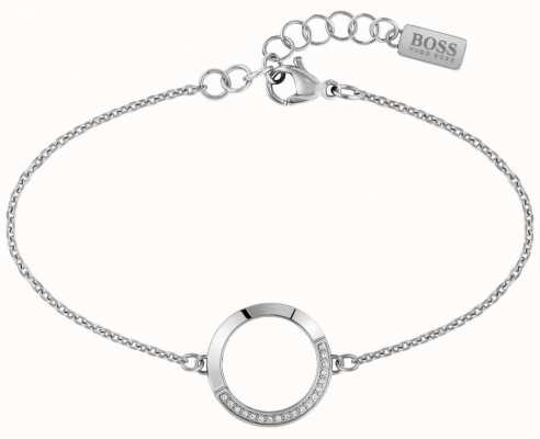 BOSS Jewellery Ophelia Stainless Steel Bracelet 180mm 1580025