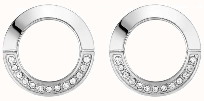 BOSS Jewellery Ophelia Stainless Steel Round Earring Studs 1580027