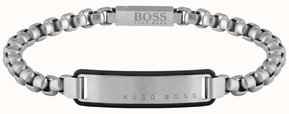 BOSS Jewellery ID Stainless Steel Bracelet 180mm 1580049M