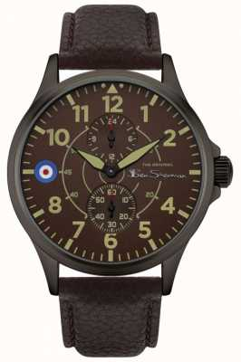 Ben Sherman | Men's Brown Leather Strap | Brown Dial BS027BR