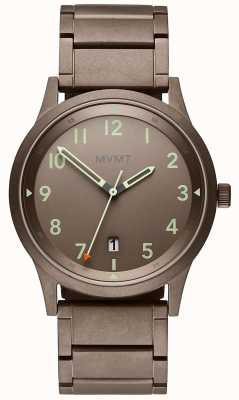 MVMT | Field | Ion-Plated Steel Strap | Grey Dial 28000020-D