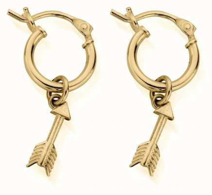 ChloBo Life Launch Hoop Earrings | Gold GEH3044