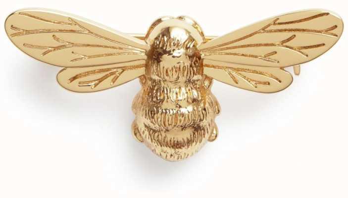 Olivia Burton Lucky Bee Gold Brooch OBPIN13N