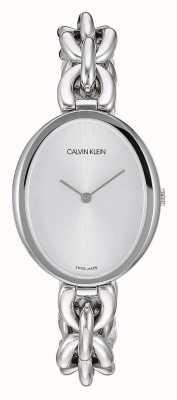 Calvin Klein | Women's Statement | Stainless Steel Chain Bracelet | K9Y23126