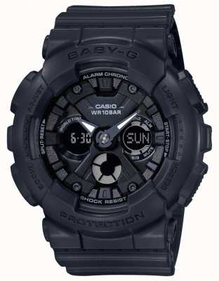 Casio Baby G Black Analog/Digital Alarm Chronograph BA-130-1AER