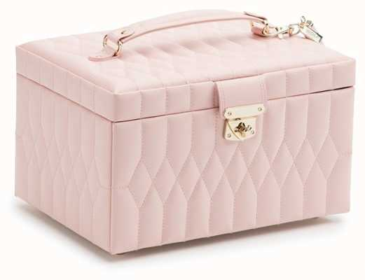 WOLF Caroline Rose Quartz Medium Jewellery Box 329715