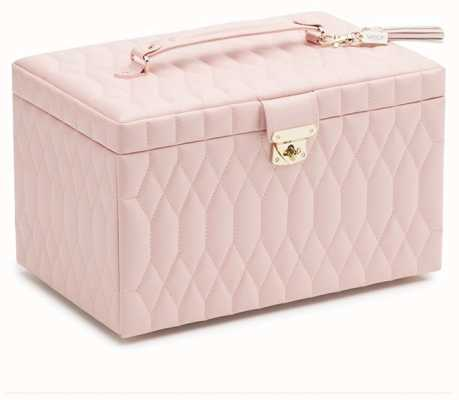 WOLF Caroline Rose Quartz Large Jewellery Box 329615