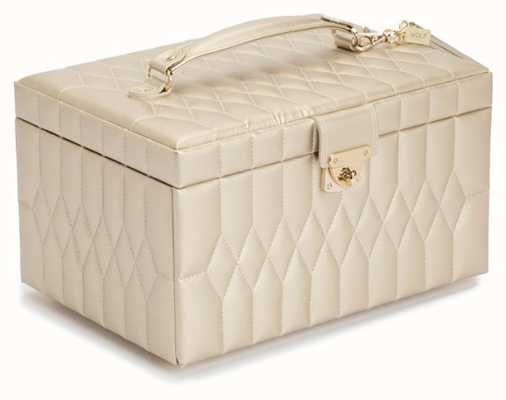 WOLF Caroline Champagne Medium Jewellery Box 329746