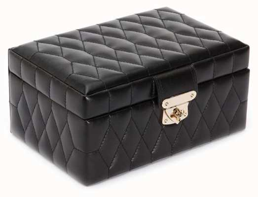 WOLF Caroline Black Small Jewellery Box 329871