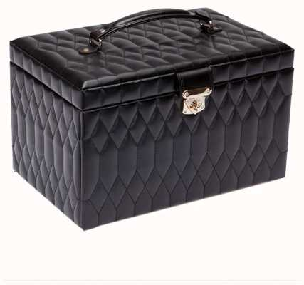 WOLF Caroline Black Extra Large Jewellery Box 329571
