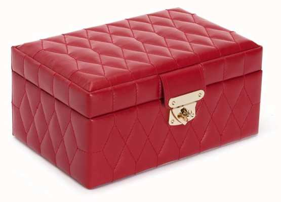 WOLF Caroline Red Small Jewellery Box 329872