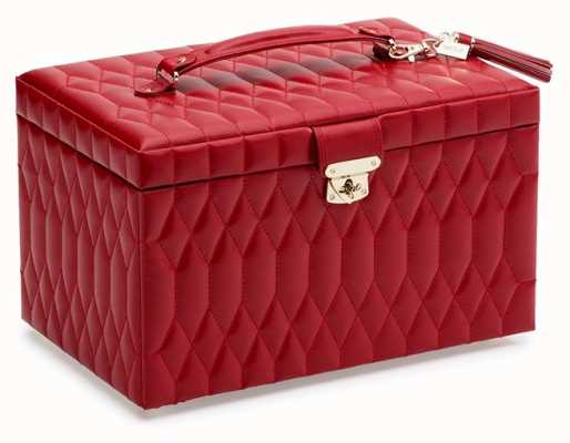 WOLF Caroline Red Large Jewellery Box 329672