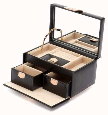 WOLF Chloe Black Small Jewellery Box 301102