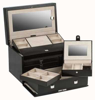 WOLF London Cocoa Medium Jewellery Box 315106