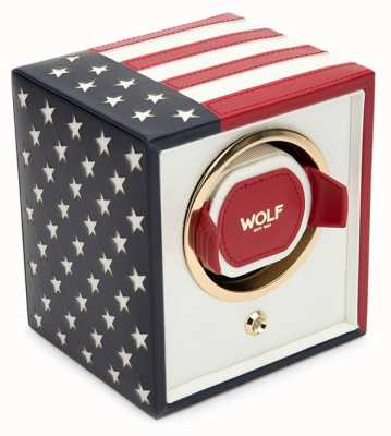 WOLF Navigator Us Flag Single Winder 462304