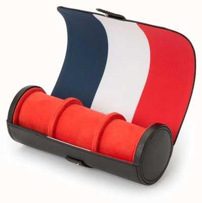 WOLF Navigator French Flag Triple Watch Roll 470304