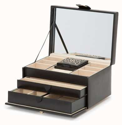 WOLF Marrakesh Black Medium Jewellery Box 308102