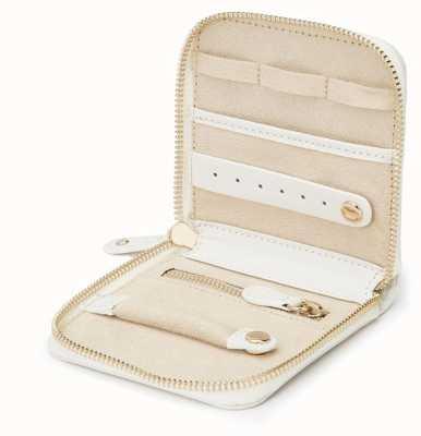 WOLF Marrakesh Cream Travel Jewellery Case 308553